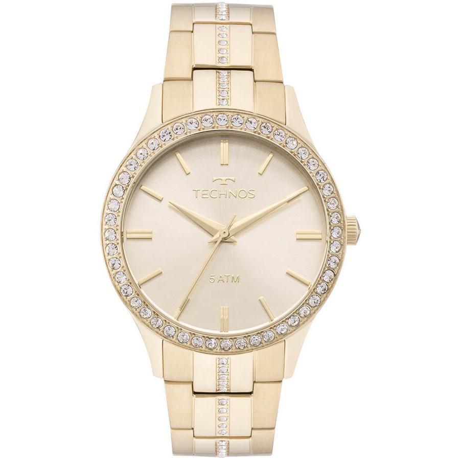 Relógio Feminino Technos 2035MMK/4X Aço Dourado