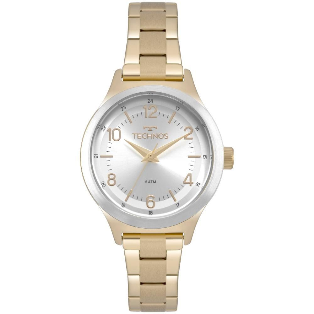 Relógio Feminino Technos 2035MNK/4K 32mm Aço Dourada
