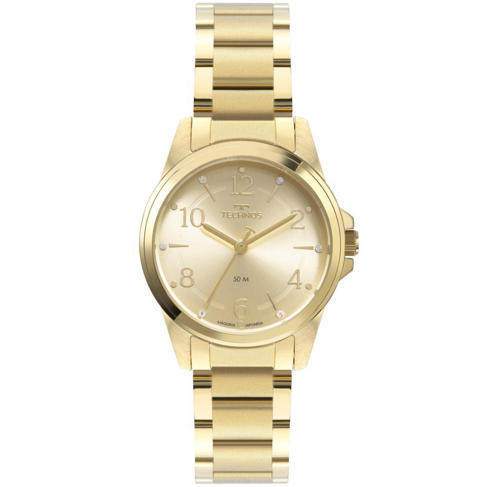 Relógio Feminino Technos 2035MTF/1X 32mm Aço Dourado