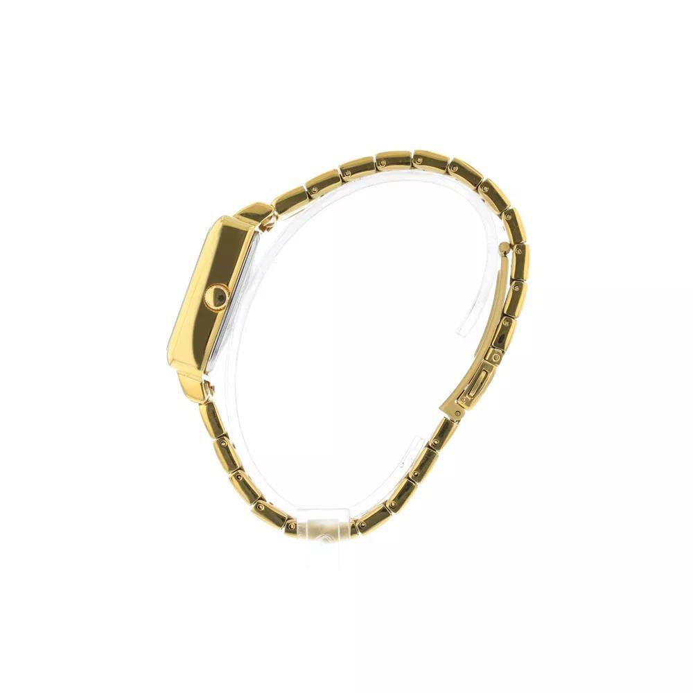 Relógio Feminino Technos 2115KPJ/4D Boutique Quadrado Dourado