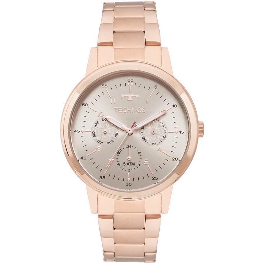 Relógio Feminino Technos 6P29AJG/4C Aço Rose