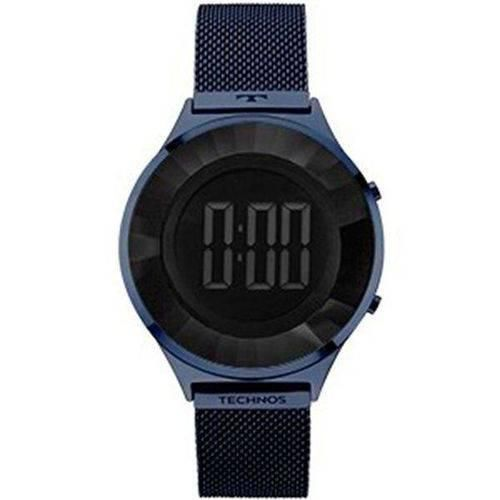 Relógio Feminino Technos BJ3572AC/4P 40mm Aço Azul