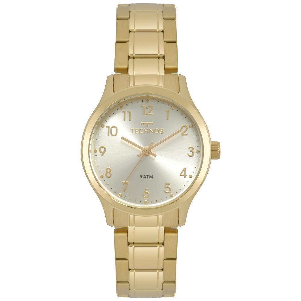 Relógio Feminino Technos Boutique 2035MPF/4K 32mm Aço Dourado