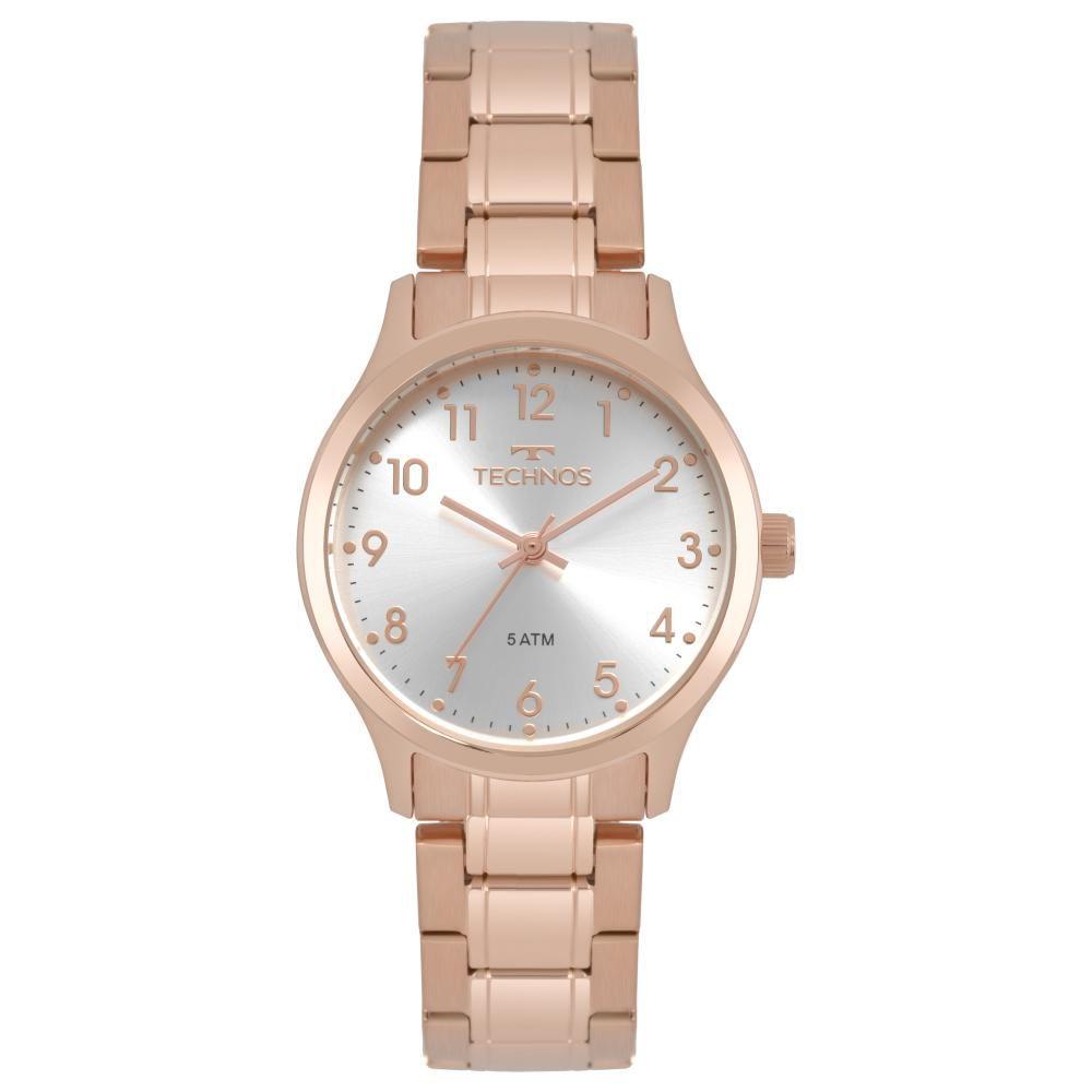 Relógio Feminino Technos Boutique 2035MPG/4K 32mm Aço Rose