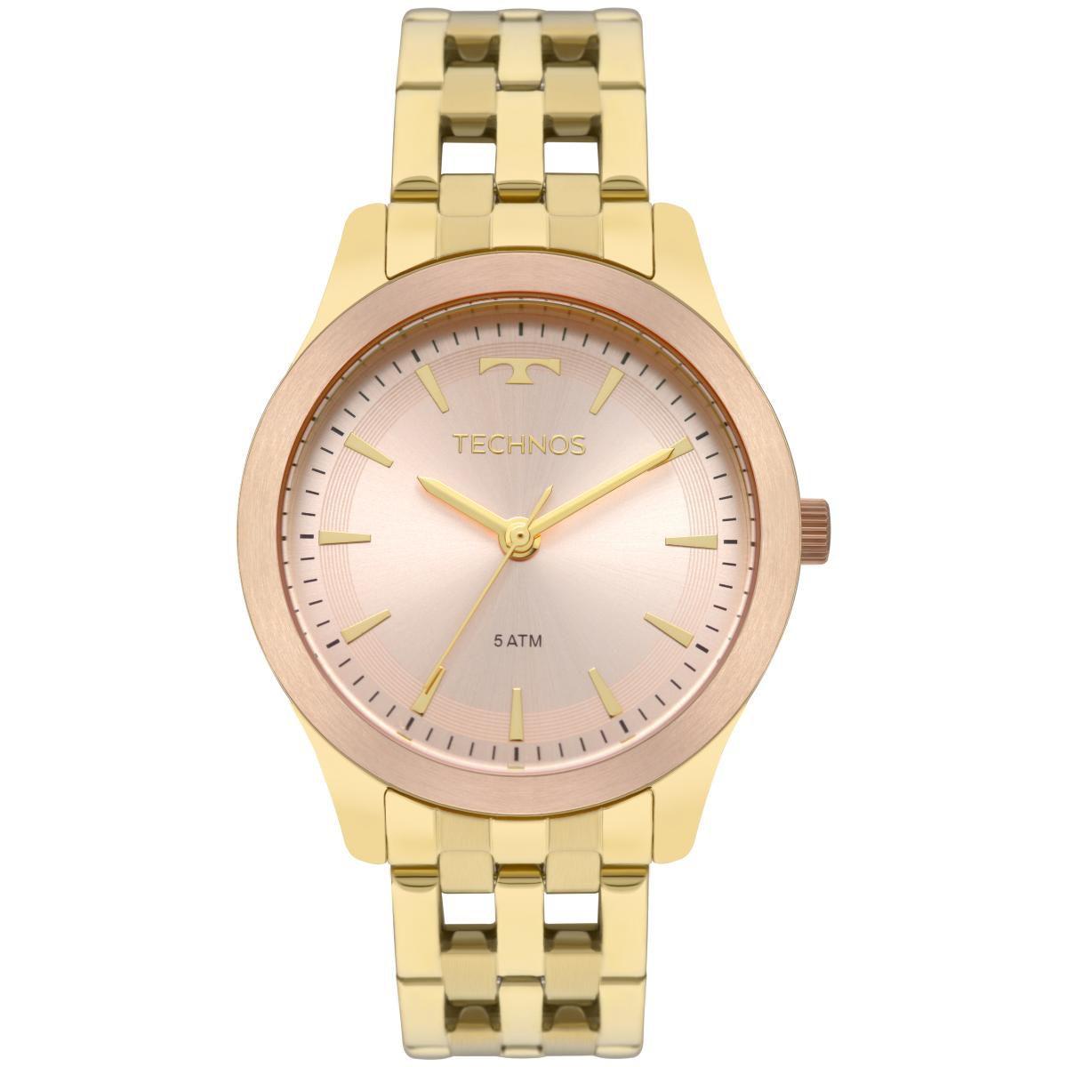 5658d446ca3 Relógio Feminino Technos Dress 2035MPM 5T 38mm Aço Dourado