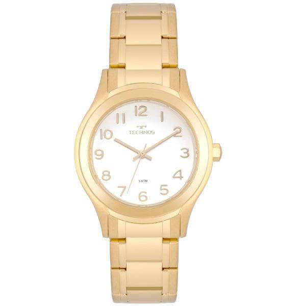 Relógio Feminino Technos Elegance 2035MON/4B 36mm Aço Dourado