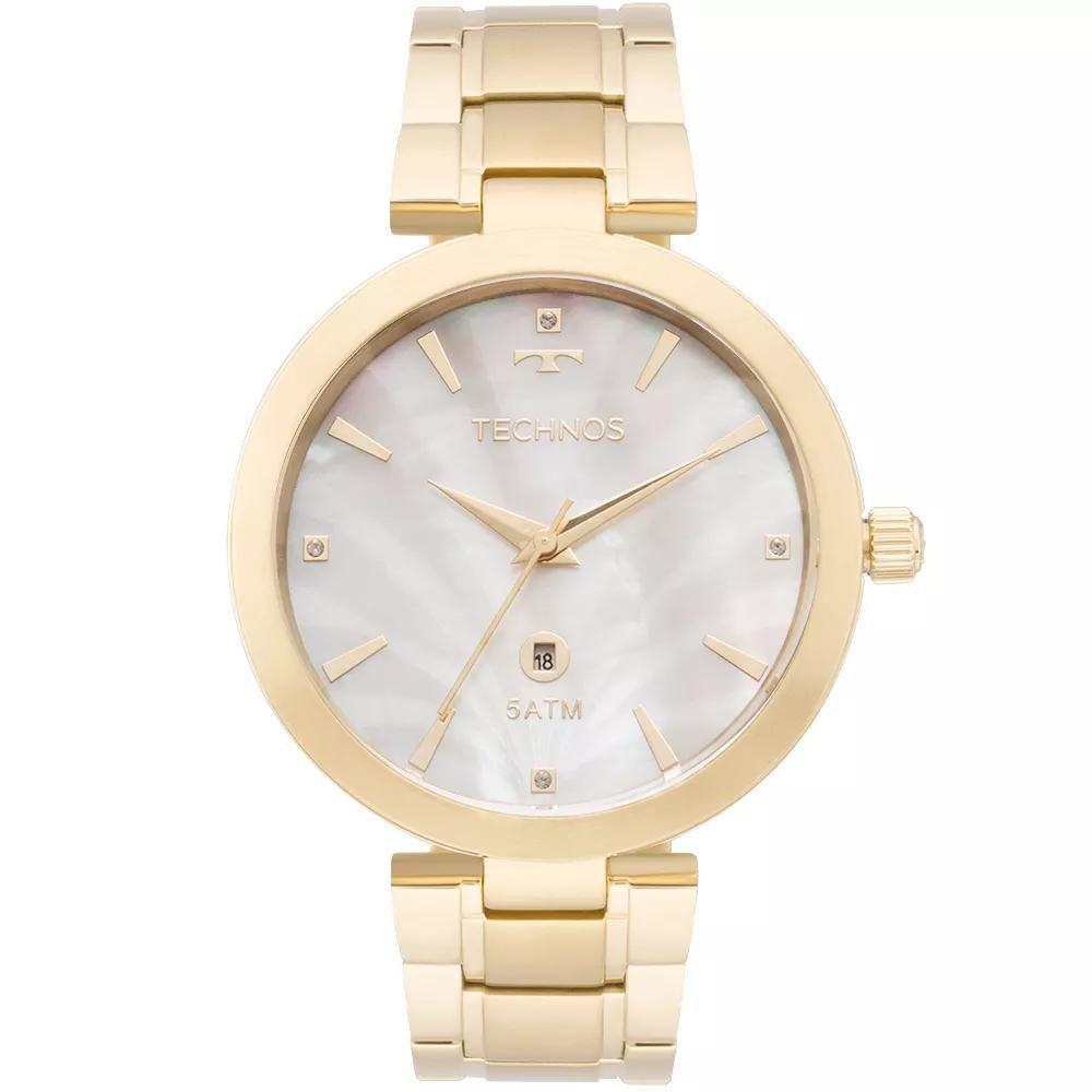 Relógio Feminino Technos GL10ID/4B Aço Dourado