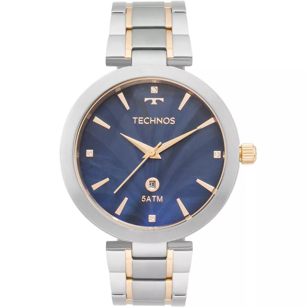 Relógio Feminino Technos GL10IF/5A Aço Prata