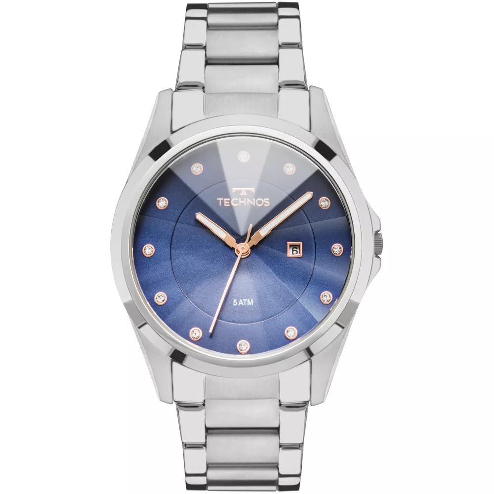 Relógio Feminino Technos GN10AT/1A Aço Prata