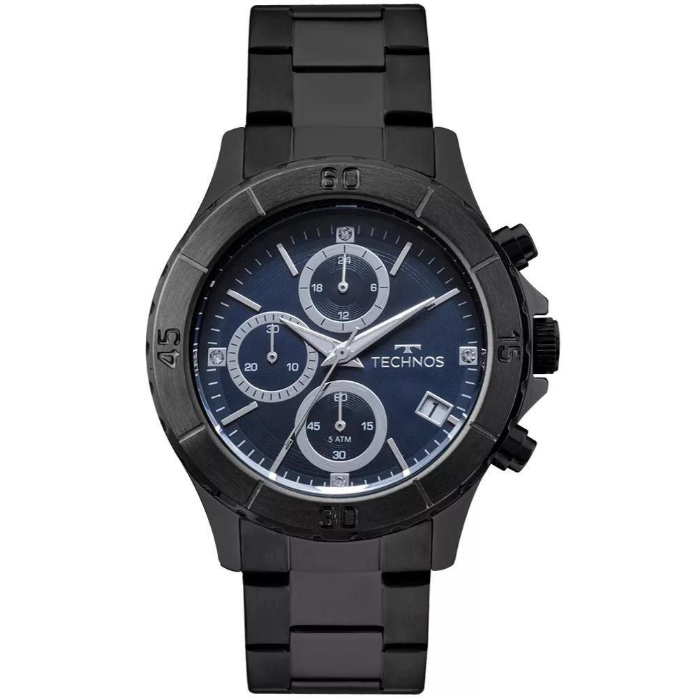 Relógio Feminino Technos JS15FL/4A Aço Preto