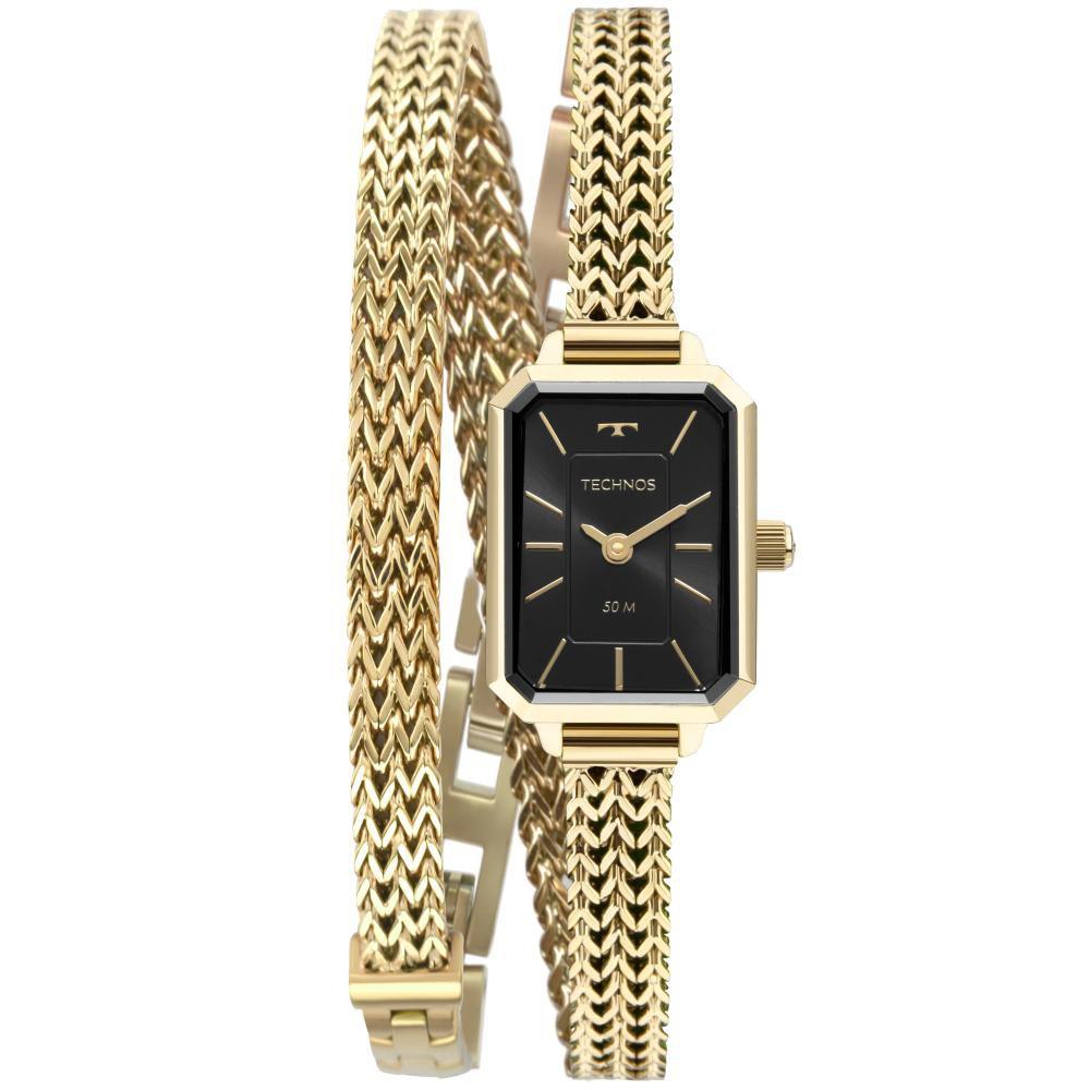 Relógio Feminino Technos Mini 5Y20IX/1P 19mm Aço Dourado