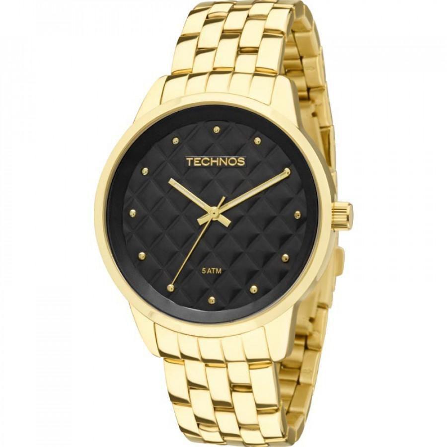 Relógio Feminino Technos Trend 2035LWM/4P 39mm Aço Dourado