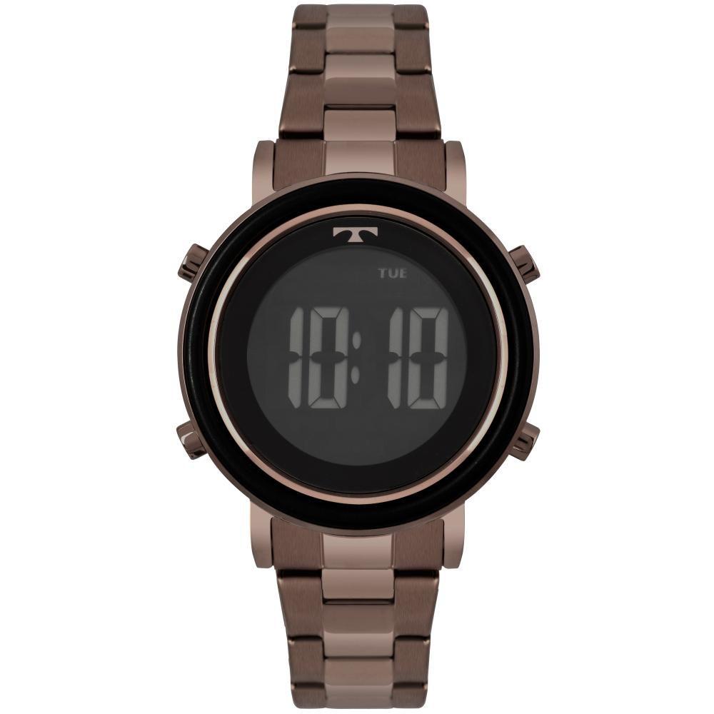 Relógio Feminino Technos Trend BJ3059AE/4P 38mm Aço Marrom