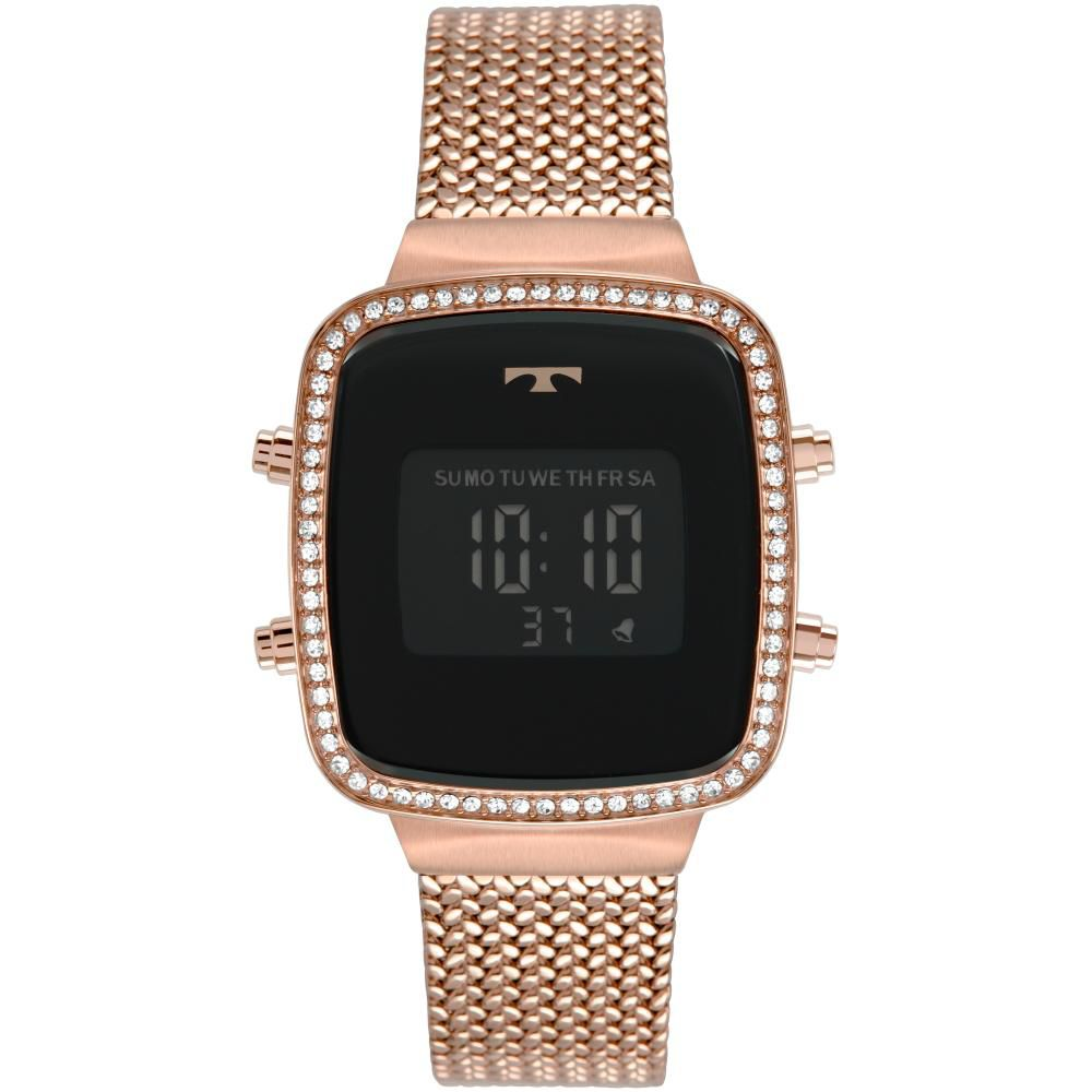 Relógio Feminino Technos Trend BJ3478AB/4P 34mm Aço Rosé