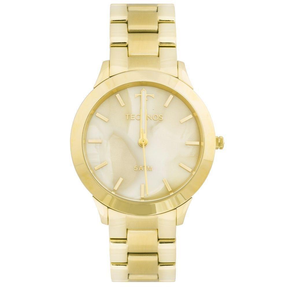 Relógio Feminino Technos Y121E5DF/4X Aço Dourado