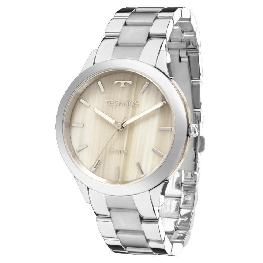 Relógio Feminino Technos Y121E5DH/1C Aço Prata