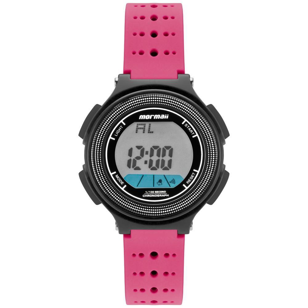 Relógio Infantil Mormaii Fun MO0974B/8Q 35mm Borracha Rosa