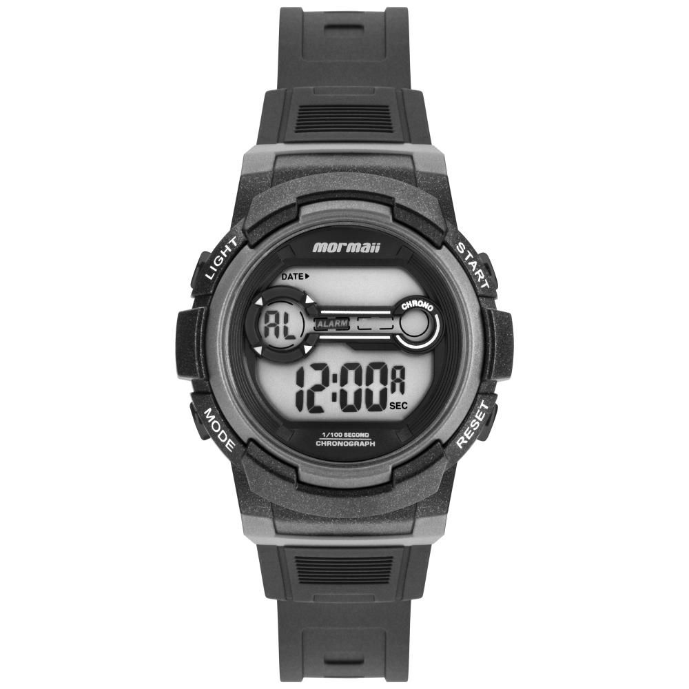 Relógio Infantil Mormaii Fun MO0200A/8C 36mm Borracha Preto