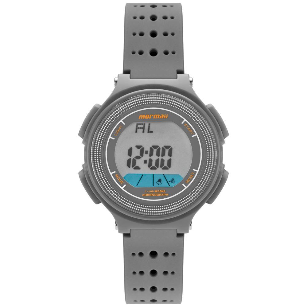Relógio Infantil Mormaii Fun MO0974A/8C 35mm Borracha Cinza