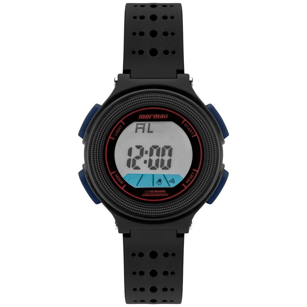 Relógio Infantil Mormaii Fun MO0974E/8P 35mm Borracha Preto