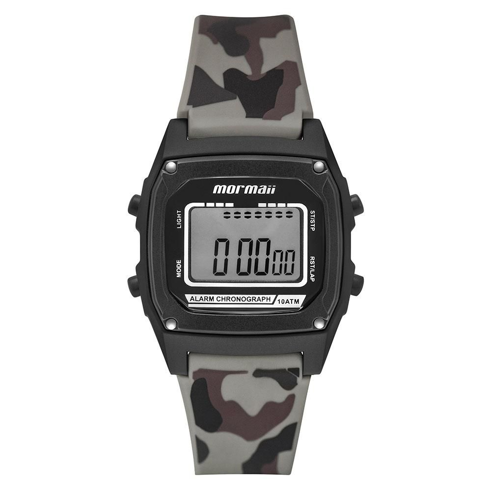 Relógio Infantil Mormaii On The Road MON28AC/8V 37mm Silicone Camuflado Militar