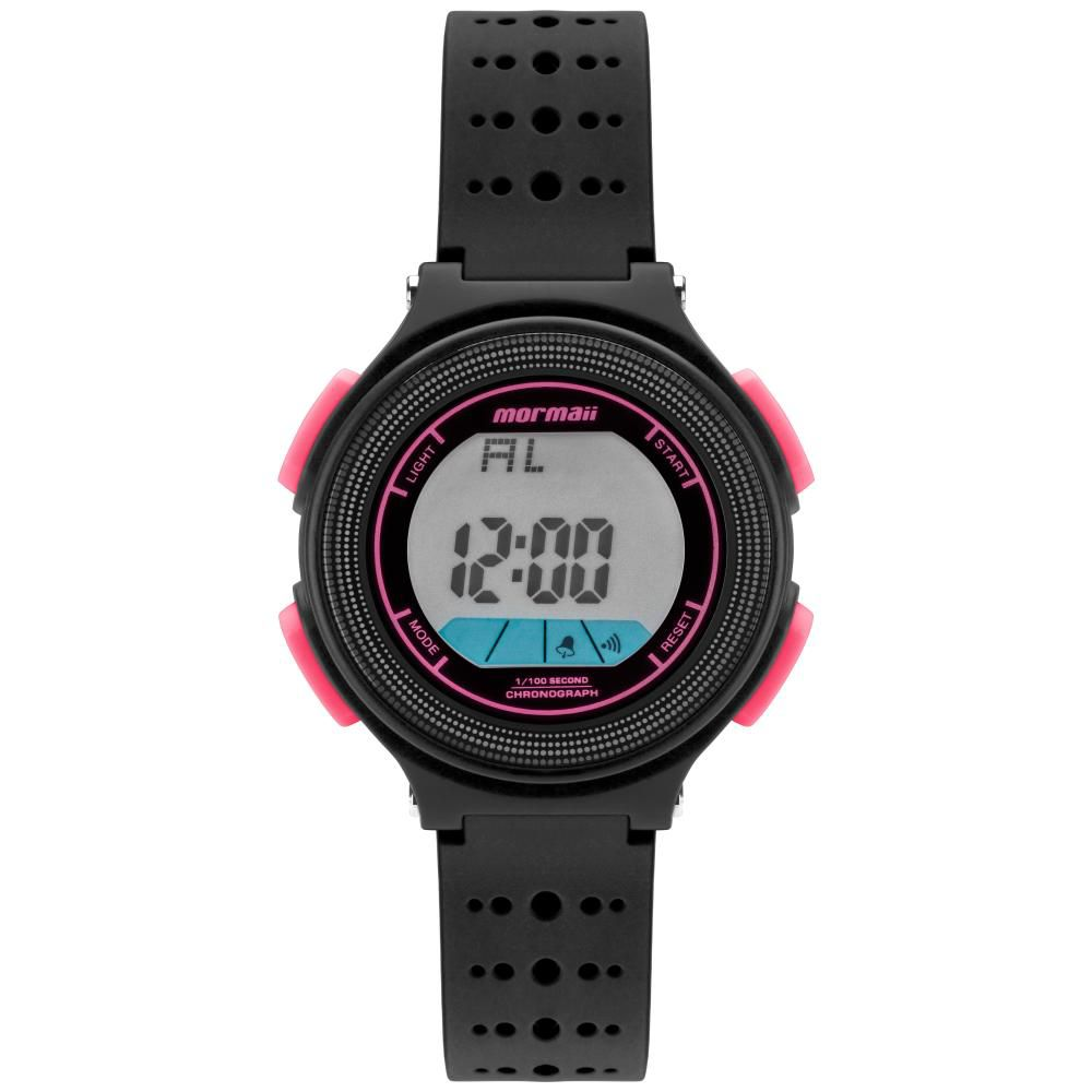 Relógio Infantil Mormaii Fun MO0974B/8T 35mm Borracha Preta