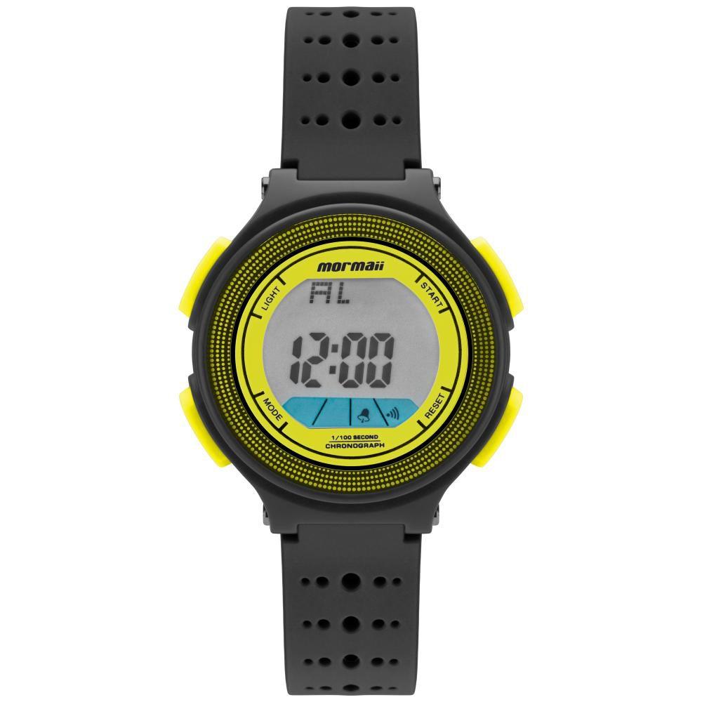 Relógio Infantil Mormaii Fun MO0974D/8Y 35mm Borracha Preta
