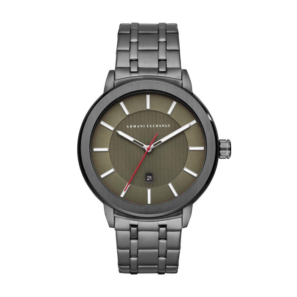 Relógio Masculino Armani Exchange AX1472/1PN 45mm Aço Grafite