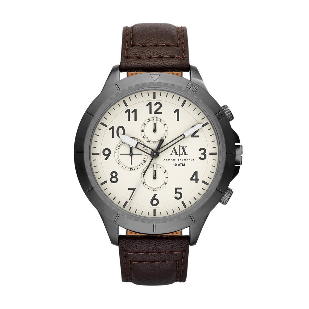 aabf14bb3bb Relógio Masculino Armani Exchange AX1757 0BN 50mm Couro Marrom