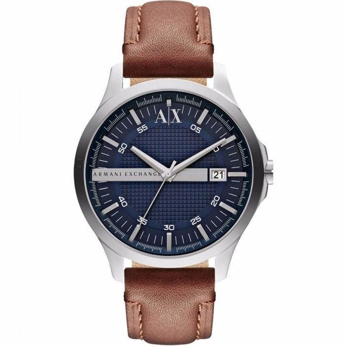 Relógio Masculino Armani Exchange AX2133/0AN 47mm Couro Marrom