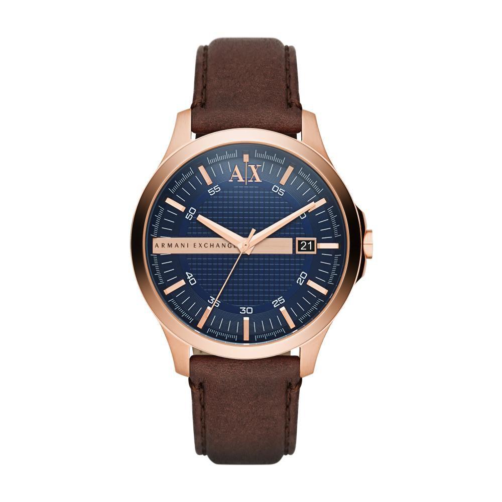 Relógio Masculino Armani Exchange AX2172/0AN 46mm Couro Marrom