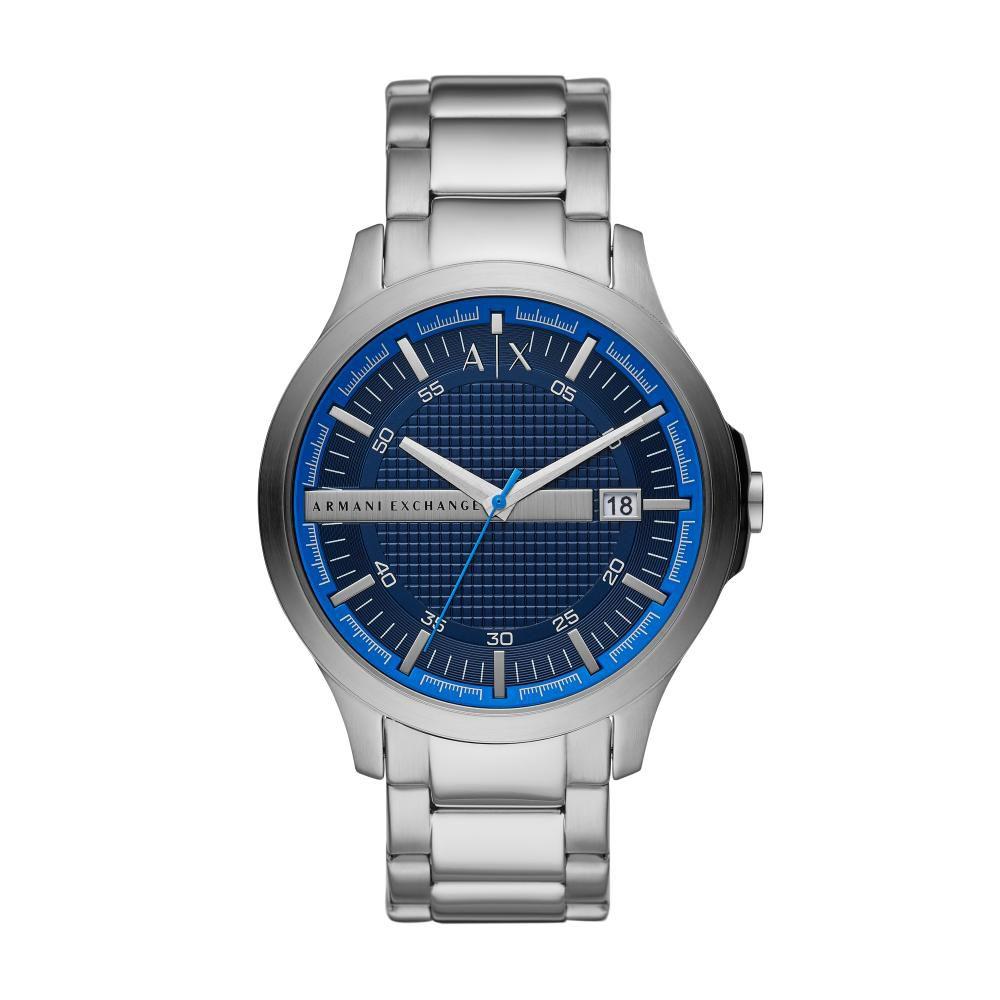 Relógio Masculino Armani Exchange AX2408/1KN 46mm Aço Prata