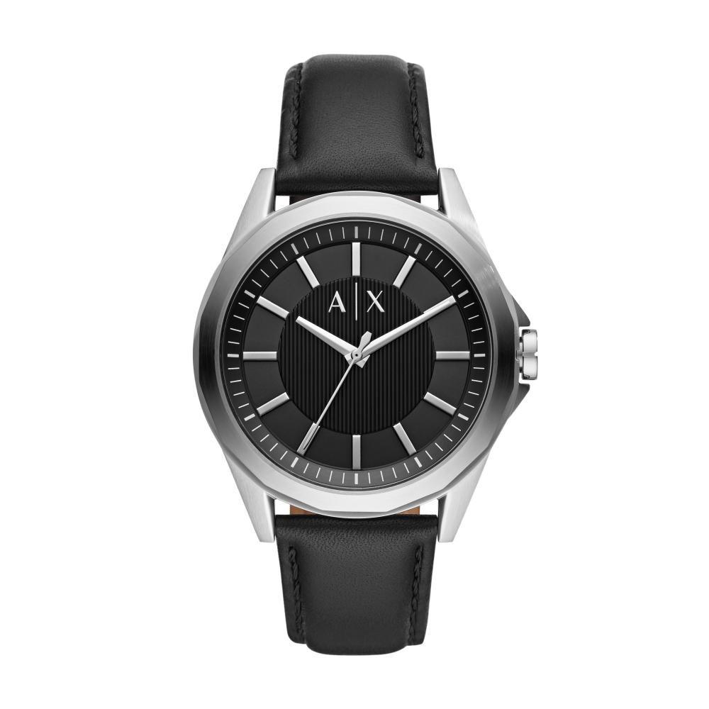 Relógio Masculino Armani Exchange AX2621/0PN 42mm Couro Preto