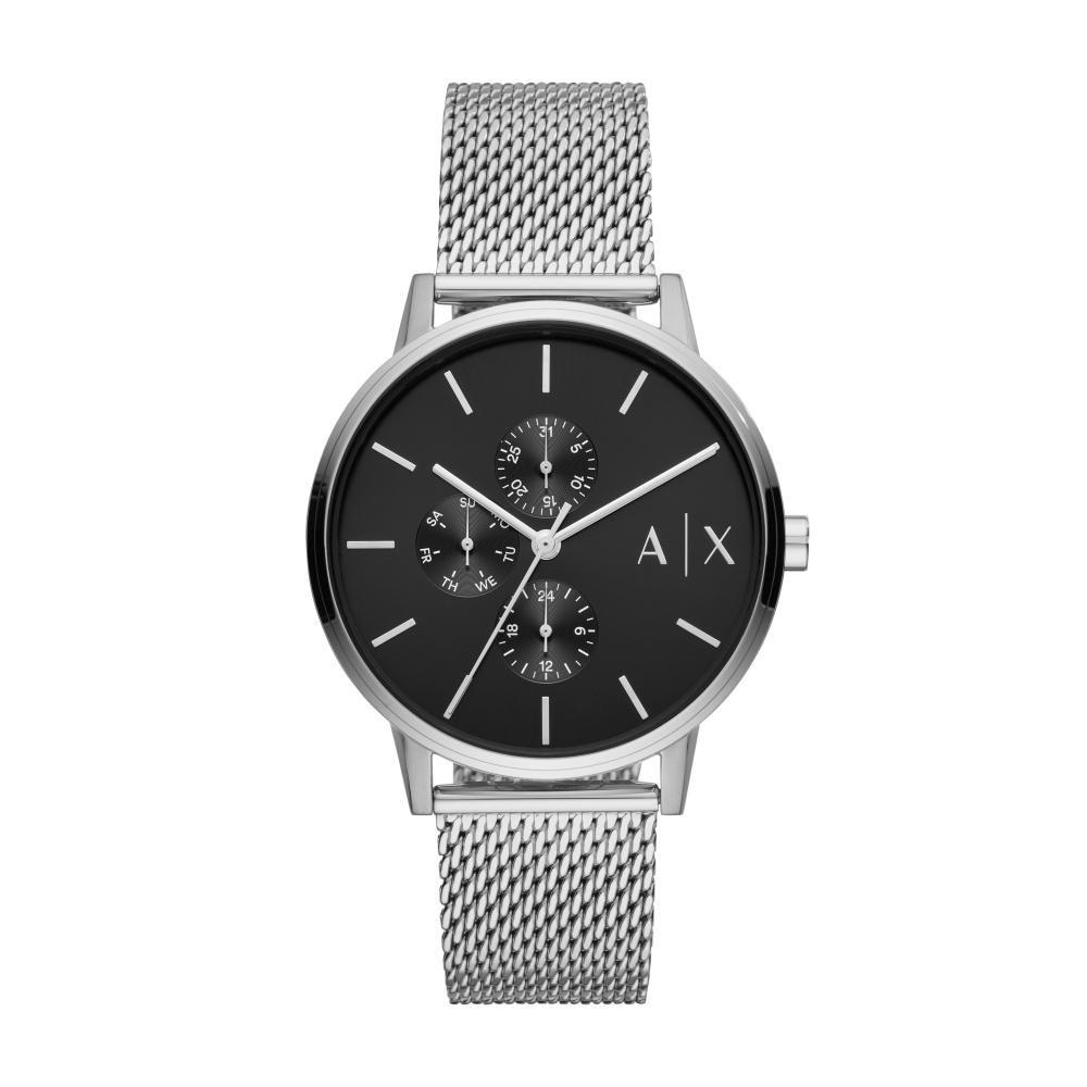 Relógio Masculino Armani Exchange AX2714/1KN 42mm Aço Prata