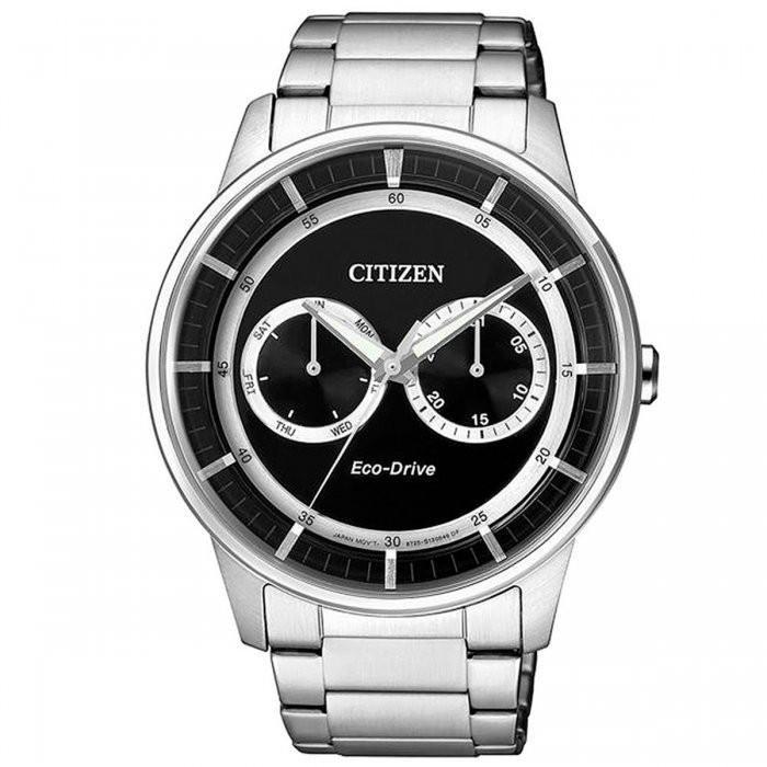 Relógio Masculino Citizen Eco-Drive TZ30384T Aço Prata