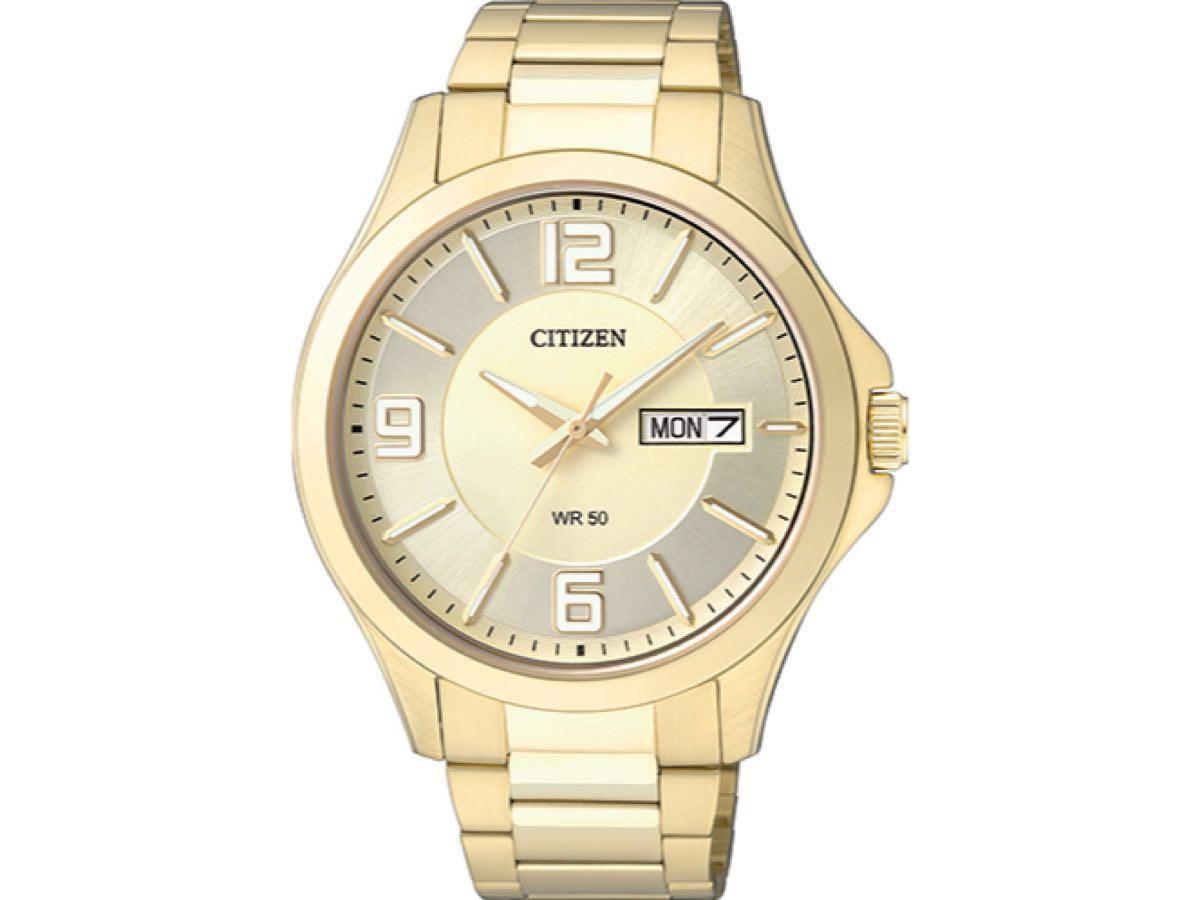 Relógio Masculino Citizen TZ20537G Aço Dourado