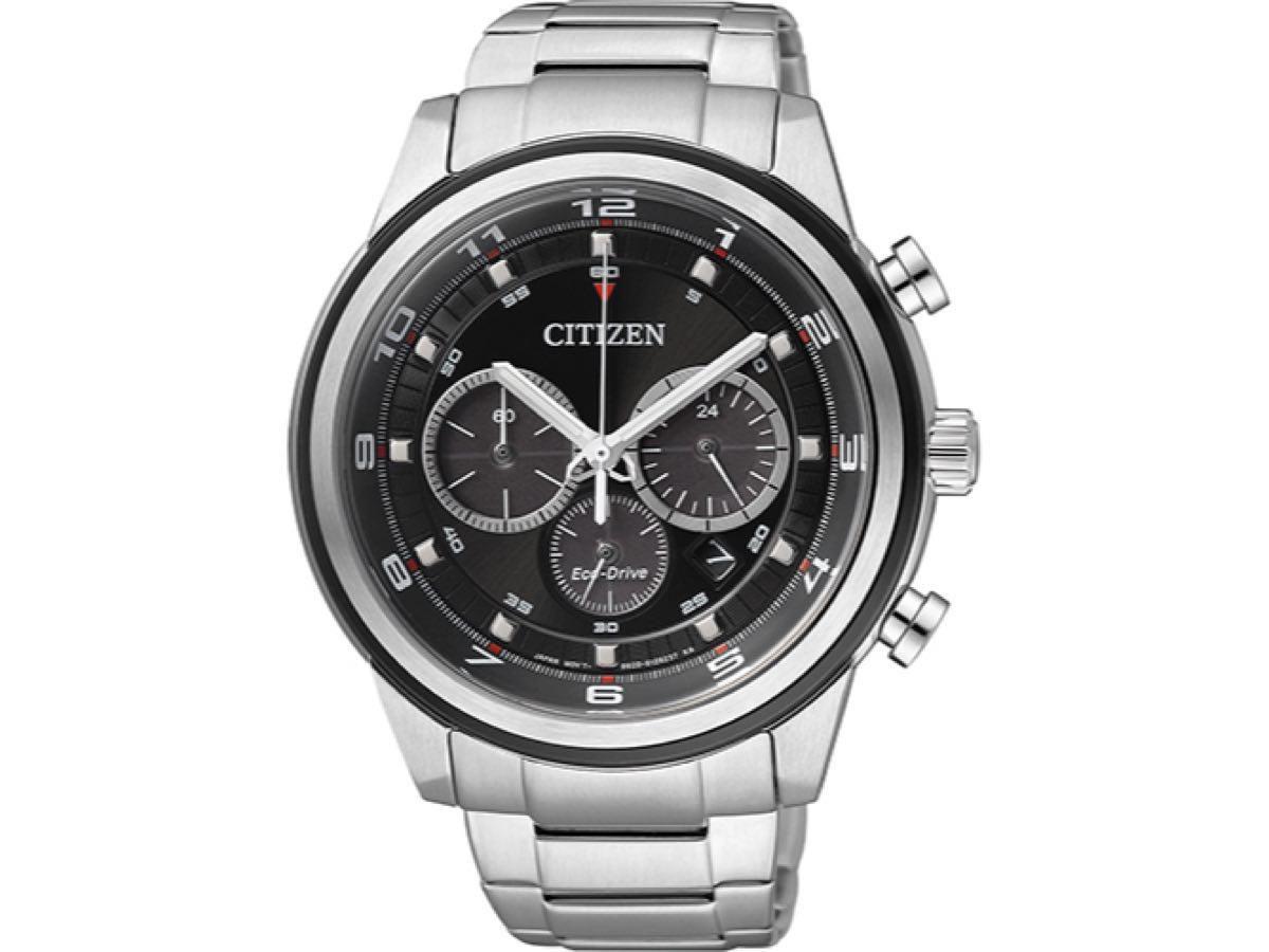 Relógio Masculino Citizen TZ30268T 43mm Aço Prata