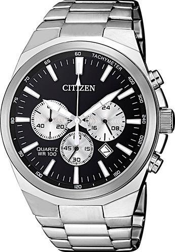 Relógio Masculino Citizen TZ31105T 40mm Aço Prata