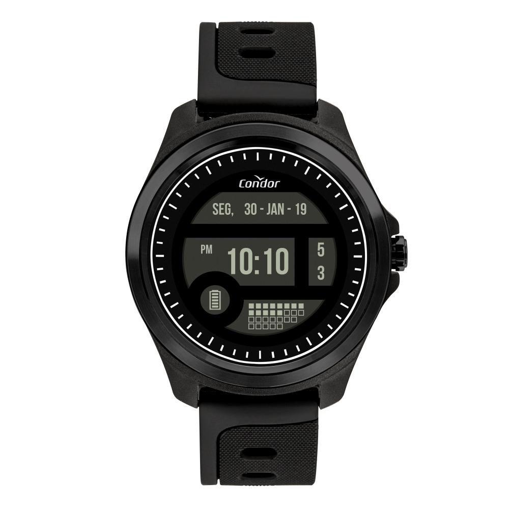 Relógio Masculino Condor Digital COKW05CAA/8P 48mm Silicone Preto