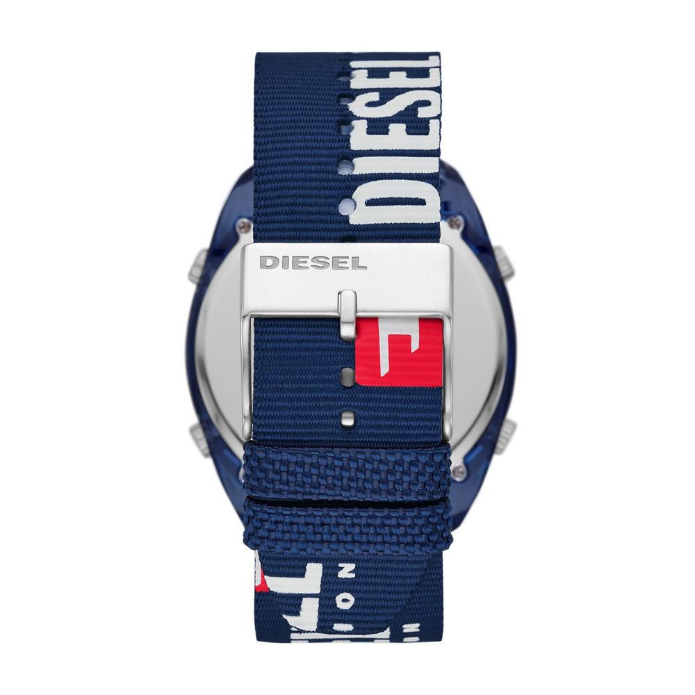 Relógio Masculino Diesel Crusher DZ1915/8AN 47mm Nylon Azul