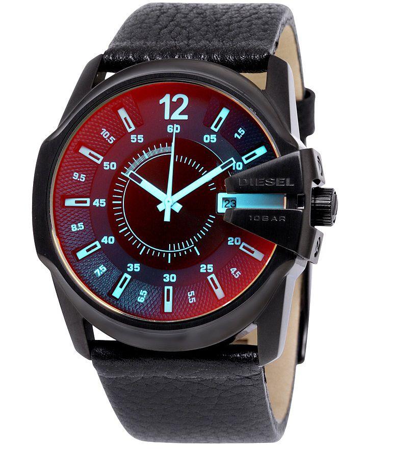 Relógio Masculino Diesel DZ1657/0PN 45mm Couro Preto