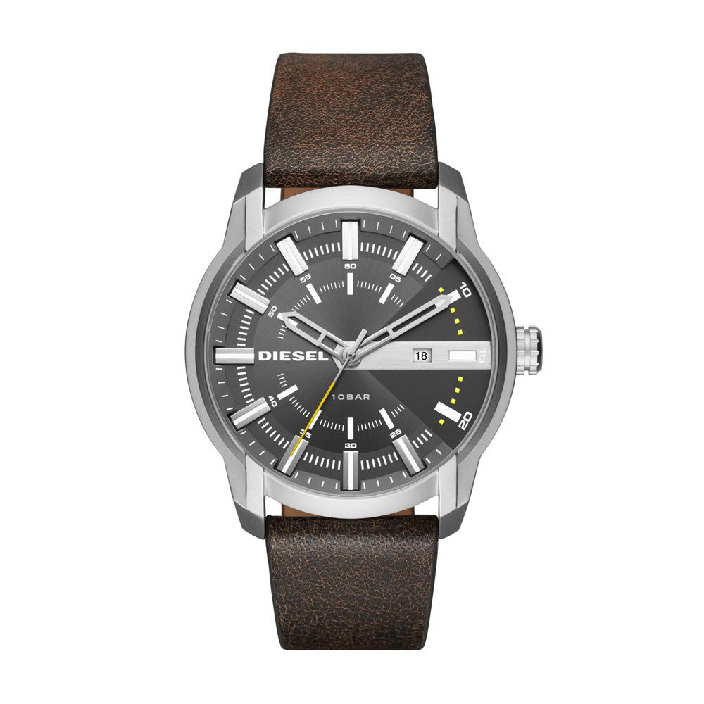 Relógio Masculino Diesel DZ1782/0CN 44mm Couro Marrom