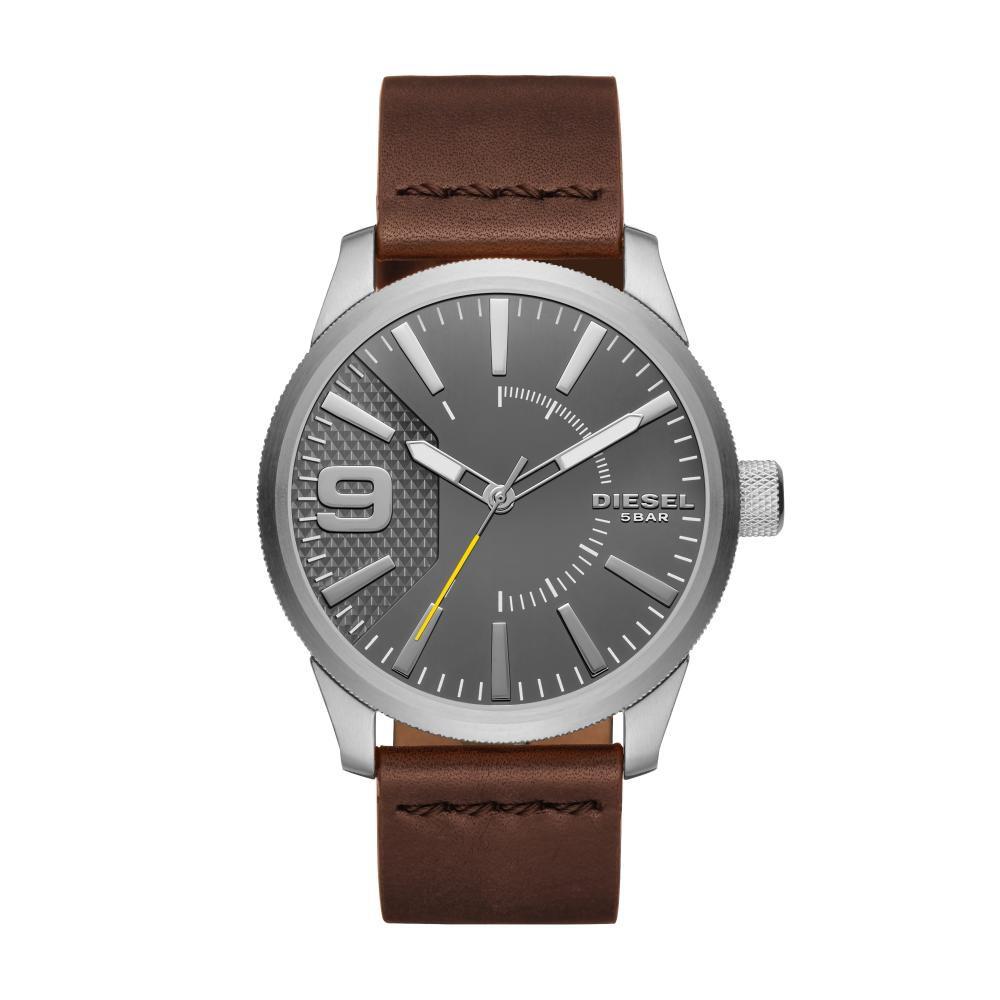 Relógio Masculino Diesel DZ1802/0CI 47mm Couro Marrom