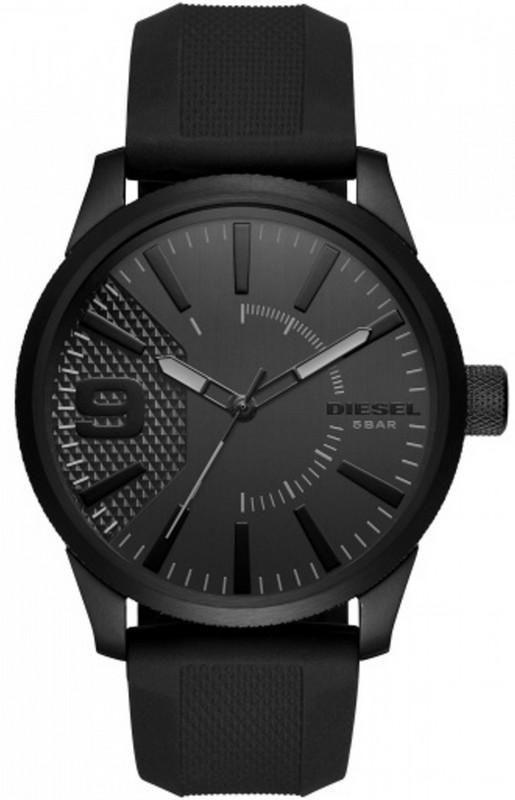 Relógio Masculino Diesel DZ1807/8PN 47mm Pulseira Borracha Preta