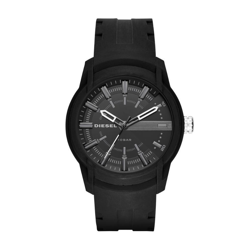 Relógio Masculino Diesel DZ1830/8PI 44mm Silicone Preto