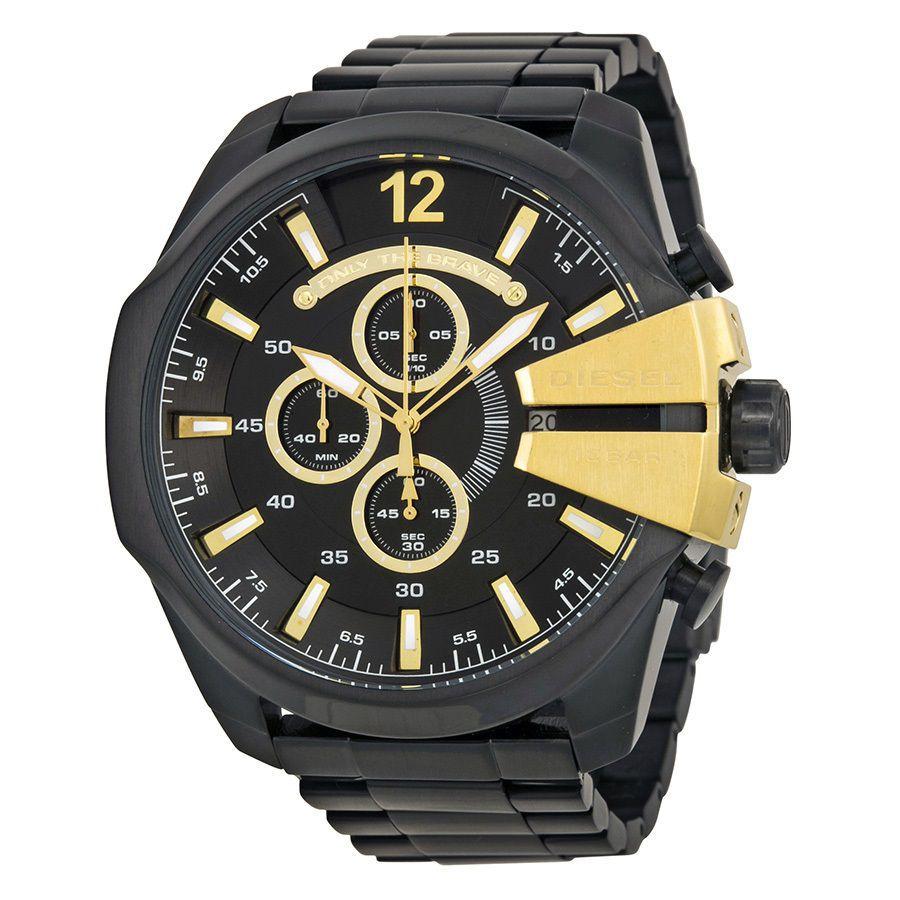 Relógio Masculino Diesel DZ4338/1PI 52mm Aço Preto