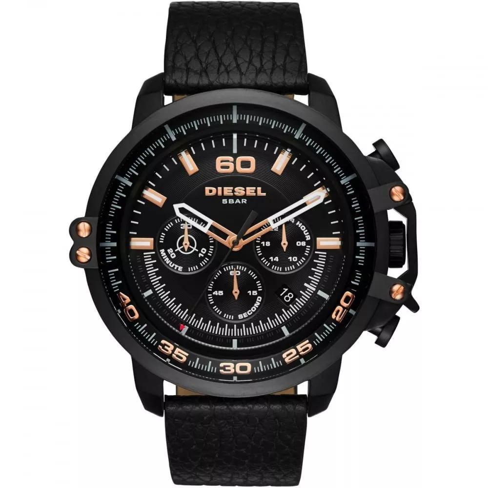 Relógio Masculino Diesel DZ4409/2PI 58mm (com pino) Couro Preto