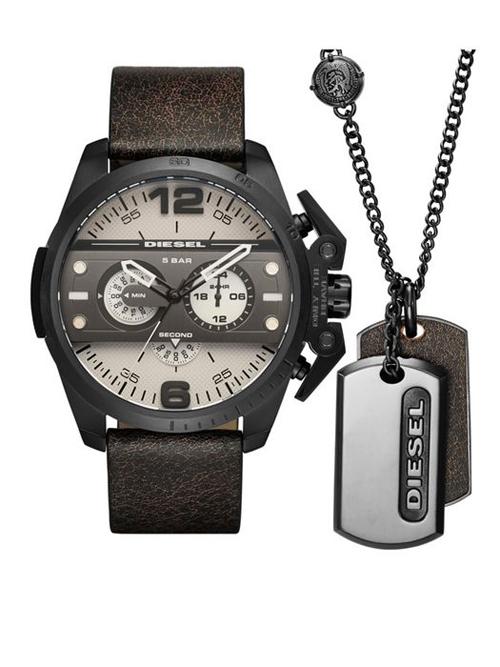 Relógio Masculino Diesel DZ4416/0XN 52mm Couro Marrom