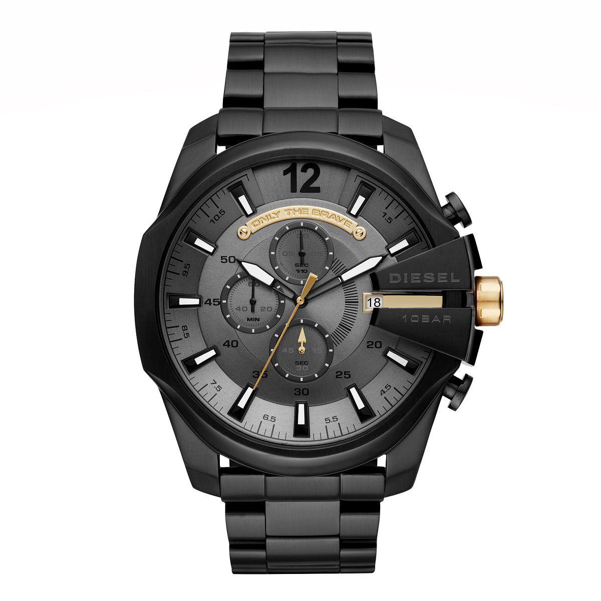 Relógio Masculino Diesel DZ4479/1PI 50mm Aço Preto