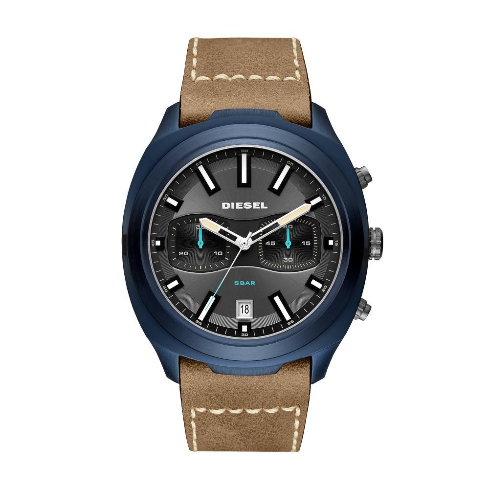 Relógio Masculino Diesel DZ4490/0MI 49mm Couro Marrom